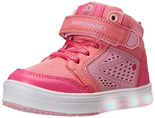 Bubble gummers IRAIS Tenis para Niñas, Color Rosa Fiusha, 17