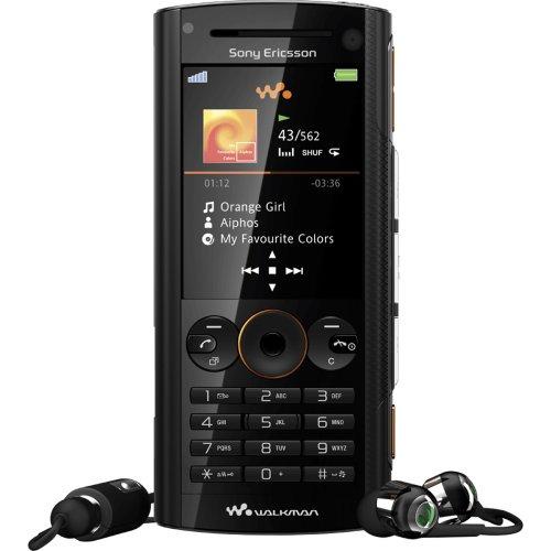 Sony Ericsson W902 Volcanic Black Handy