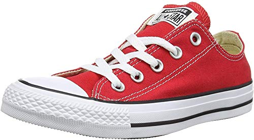 CONVERSE Chuck Taylor All Star Seasonal Ox, Unisex-Erwachsene Sneakers, Rot, 36 EU