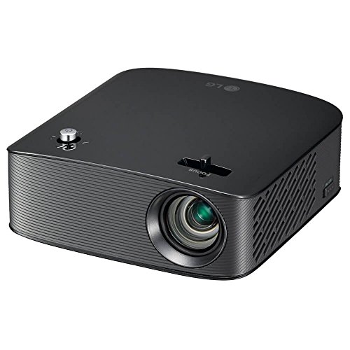 LG PH150B MiniBeam Portable LED Projector with 100in 720p Display, 130 Lumen, Bluetooth and HDMI (Renewed)