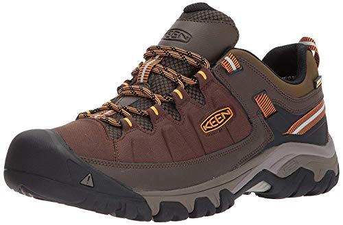 KEEN Utility Men's Targhee EXP WP Hiking Shoe, Cascade/Inca Gold, 10.5...