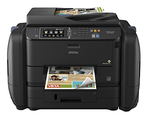 Epson Workforce Pro WF-R4640 EcoTank Wireless Color All-in-One Supertank Printer, Works with Alexa