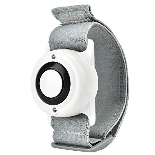 Boquite Alarma Personal, Alarma de Emergencia de Seguridad para Defensa Personal de Ejercicio(Blanco)
