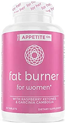 Appetite Suppressant | Weight Loss Pills for Women | Fat Burner for Women | Boost Energy & Metabolic Rate | Keto Pills | Diet Pills for Women | Carb Blocker | 60 Count Manufacturer: The Appetite Co