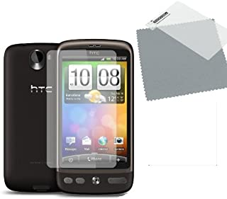 **5-pack – HTC DESIRE skärmskydd med rengöringsduk – Hi-TEC ESSENTIALS