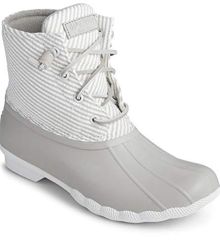 Sperry Saltwater Seersucker Boot Size (10)