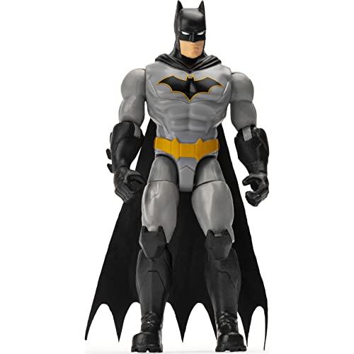 DC Comics BATMAN 10-cm Rebirth BATMAN Action Figure with 3 Mystery Accessories, Mission 1