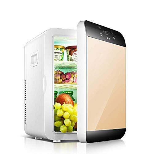 LKOER Mini refrigerador portátil, refrigerador eléctrico y refrigerador de Coches de cálculo de Coches con termostato Digital, refrigerador de Vino para Campin jinyang