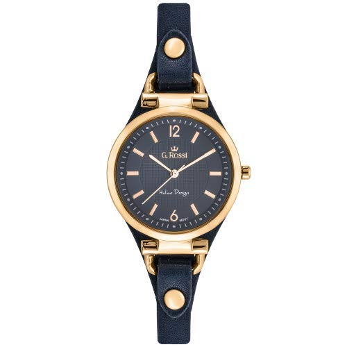 Gino Rossi - Reloj de pulsera analógico para mujer, mecanismo de cuarzo