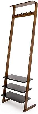 Amazon.com: Perchero de madera de lujo para ropa, sombrero ...