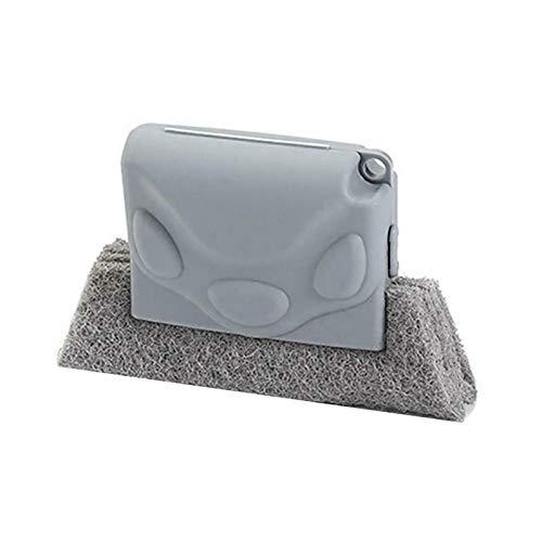 Blackzone Household Groove Cleaning Brushes,Window Dust Bathroom Kitchen Floor Gap Dirt Clean Brush Tool Grey