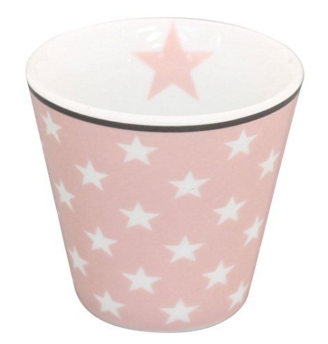 Krasilnikoff Espresso, pink Star 6 cm [W]