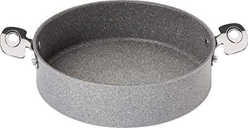 BALLARINI Portofino 24cm Servierpfanne, Aluminium, grau, 24 cm