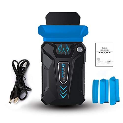 ZengBuks Geräuscharmer Kühler Mini Air Extractoring Kühler Lüfter Kühler Temperaturregelung Notebook Kühler Auspuff CPU Kühler