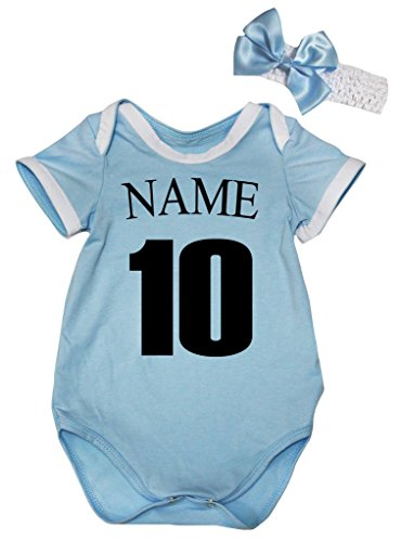 Petitebelle - Body - para bebé niña Azul Argentina 2 mes