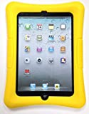 Totally Tablet Ipad Mini 1/2/3 Kid Friendly Protective Silicone Shell Case (Yellow)