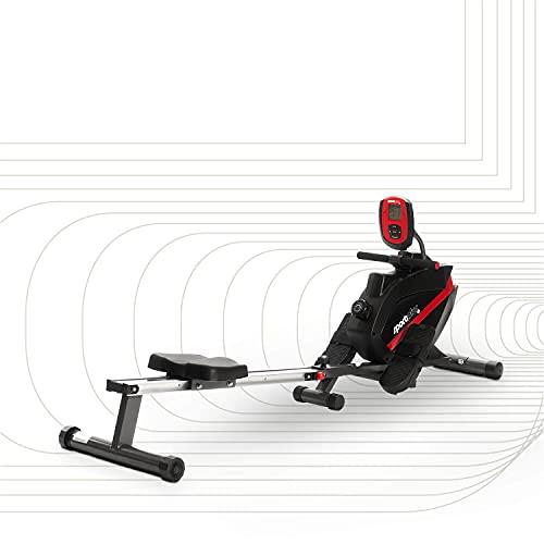 SportPlus Vogatore per Casa, Sistema Frenante Magnetico Silenzioso Esente da Manutenzione, Massa...