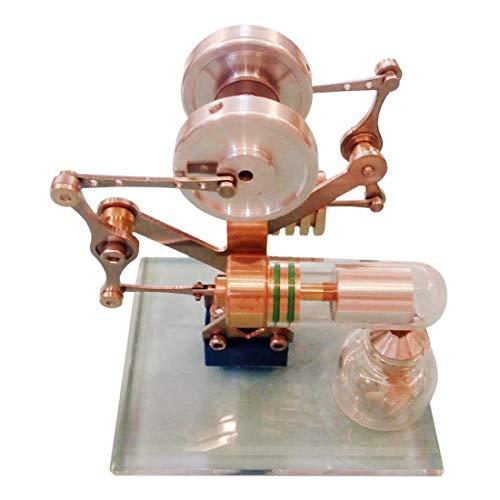 TETAKE Stirlingmotor Bausatz Sterling Motoren Stirlingmotor Modell Stirling Engine Kit für Technikinteressierte Bastler