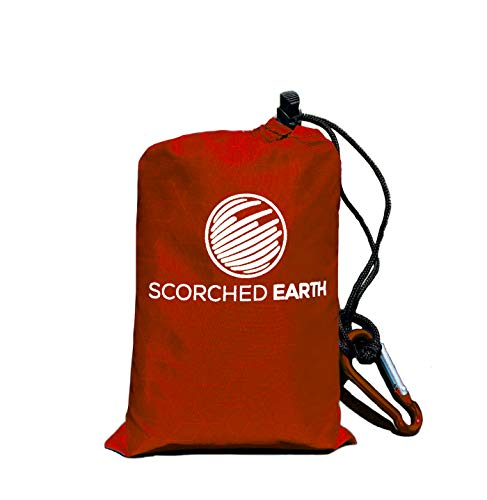 ScorchedEarth Pocket Blanket for Beach, Travel,...