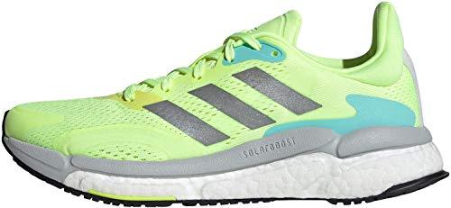 Adidas Damen Solar Boost 21 Straßen-Laufschuh, HIREYE/SILVMT/DSHGRY, 40 EU