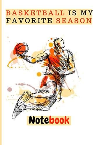 basketball is my favorite season: euroleague 2020 journal Notebook nba manager 6x9 120 Pages peak basketball for people they love basketball