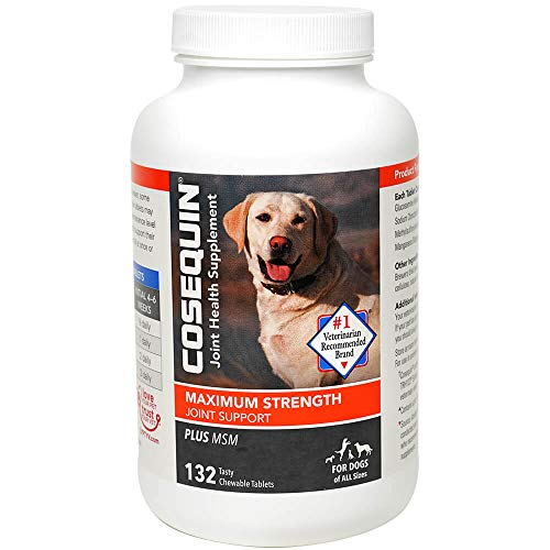 COSEQUIN w/MSM Chewable Tablets, 132 ct