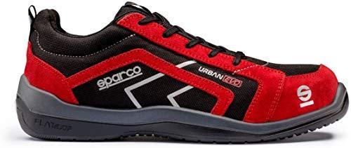 Sparco Urban Evo - Zapatillas de seguridad Rojo Size: 45 EU