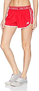 New Balance Women's Accelerate 2.5 Shorts Vivid Coral X-Large [並行輸入品]