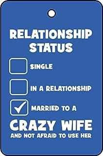 Relationship Status Car Air Freshener