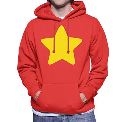 Cloud City 7 Steven Universe Yellow Star - Sudadera con capucha para hombre