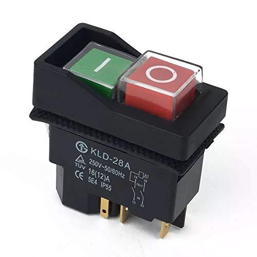 On Off Interruptor Botón para Belle Minimix 140y Minimix 150Cemento hormigonera eléctrica de 240V por BMS