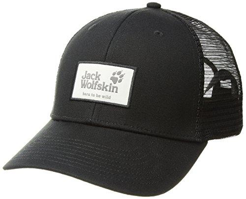 Jack Wolfskin Unisex Heritage Casquettes Kappe, (Black), (Herstellergröße: One Size 56-61CM)