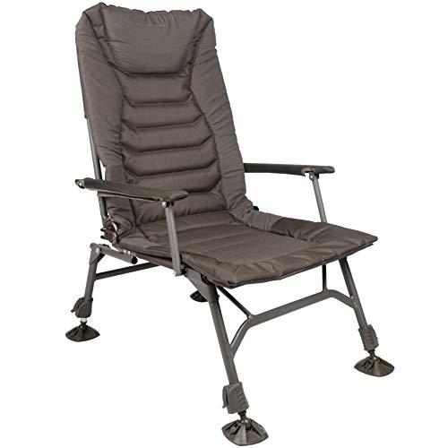 Strategy Throne 61 Chair - Karpfenstuhl zum Karpfenangeln & Welsangeln, Stuhl zum Ansitzangeln, Angelstuhl zum Angeln