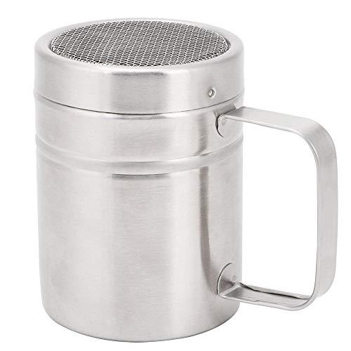 Aigend Spice Shaker – Roestvrij staal keuken kruiden pot specerijen Peper zout pot Icing Sugar Chocolade Meel Shaker…