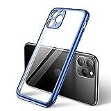 Dqtaoply Coque de protection transparente pour iPhone 11 Pro Max, Crystal Clear Ultra fine en...