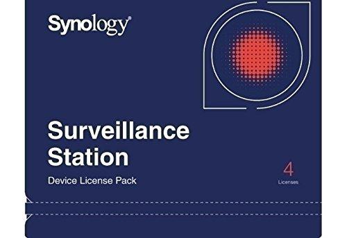 DEVICE LICENSE (X 4), Freischaltcode, 4 Kamera Lizenzen, für Synology Surveillance Station