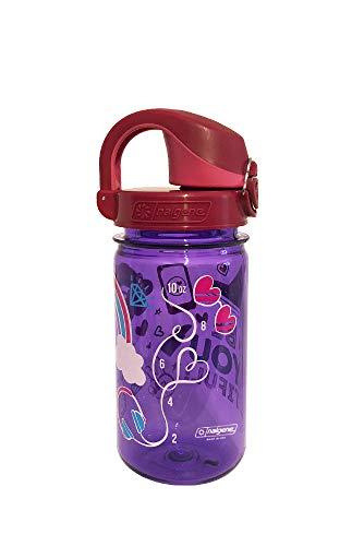 Nalgene Unisex– Erwachsene OTF Kids Kinderflasche, lila BeYouTiful, 0,35 L