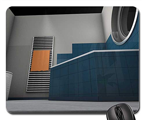 Mouse Pad - Graphic Rendering 3D Model Bad Window Architecture 2
