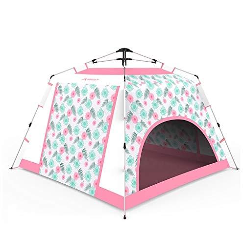 Utilisation multiple Sports de plein air Tente Camping Épaississement Crème solaire anti-pluie Accueil Extérieur Intérieur Tente pliante coupe-vent respirant Équipement d'extérieur ( Color : Blue )