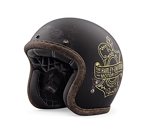 Harley-Davidson Bootlegger's Pass 3/4 Jet Helm, 98236-19EX, S