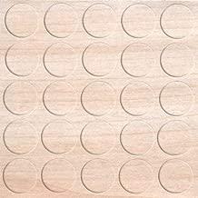 Lochkappen f/ür M/öbel Gesamt /Ø 17 mm Massivholz Ahorn naturbelassen 20 St/ück Kappen rund zum Eindr/ücken Gedotec Loch-Abdeckungen universal Abdeckkappen Holz f/ür Blind-Bohrung /Ø 15 mm