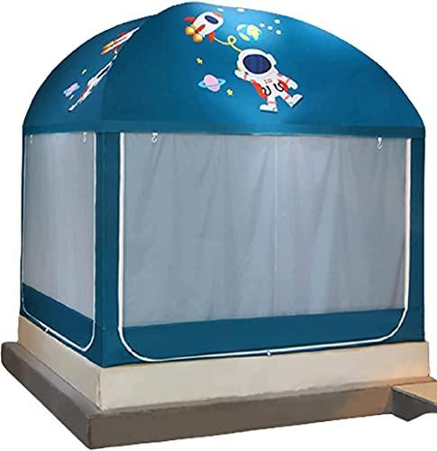 QPP-CL Mosquitera Neto Solid Yurt Tent Mosquitero Plegable Tienda Cama Plegable Cama Bebé Cama de Bebé Neto Fácil instalación con Tela de Protector solar-150 * 200 cm