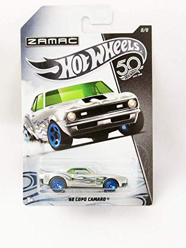Hot Wheels 50th Aniversario Zamac FRN31 – Chevy Camaro Copo ´68 8/8