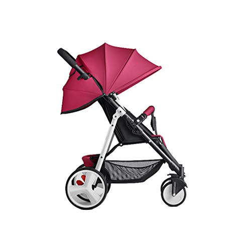 Poussette bébé pour nouveau-né et enfant en bas âge, poussette de jogging légère tout terrain, convient à un bébé de 0 à 36 mois