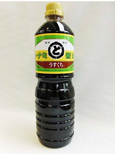 醤油 うすくち 1リットル トナミ醤油