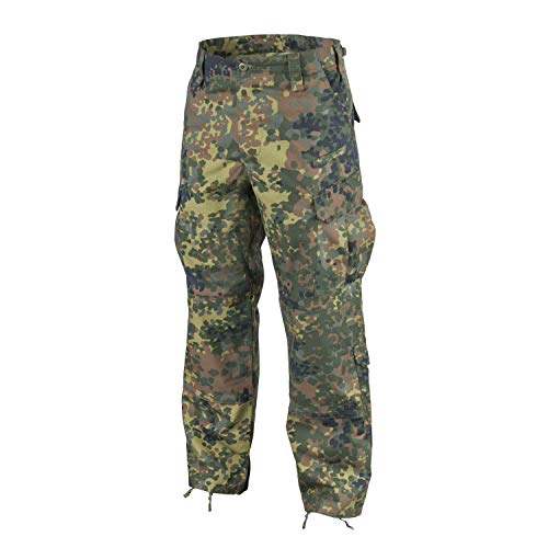 Helikon-Tex CPU Hose Pants Flecktarn Ripstop Bundeswehr Combat Patrol Uniform Medium Long