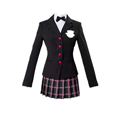 charous Spiel Persona 5 Cosplay Kost¨¹m Halloween Kost¨¹m Schuluniform Kleid f¨¹r Frauen vollen Satz