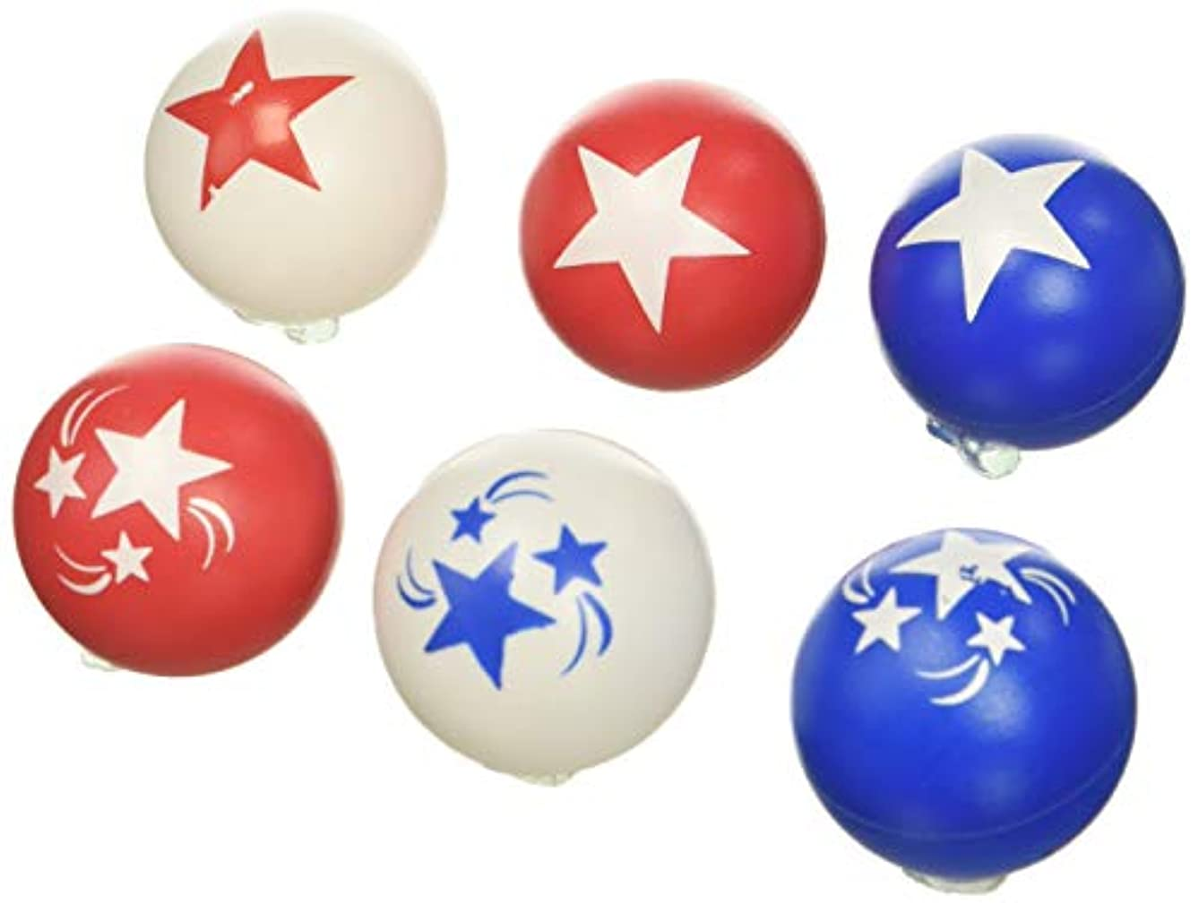 Patriotic Party Pong Balls, 6 Ct.