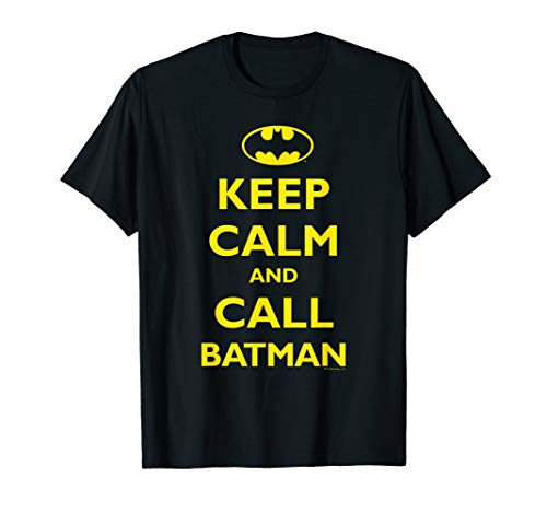 Batman Keep Calm T Shirt