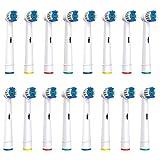 SOFTMATE 16 Cabezales de recambio compatibles con cepillo de dientes eléctrico Oral-B